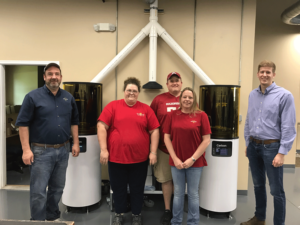 Our Digital Team (from l-r: Steve Edmonds, Bonni Jo Drury, Jason Hillygus, Sheila McMasters, and Keith Murphy from Carbon)